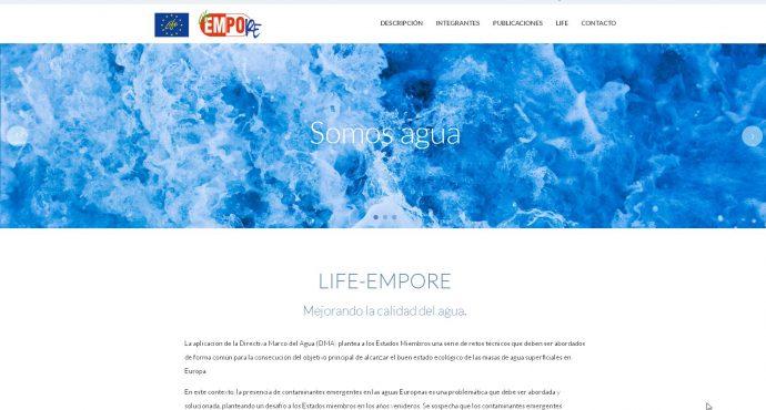 ¡Ya está disponible la web del proyecto LIFE-EMPORE!