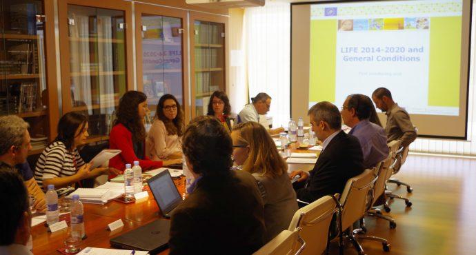 1ª Visita del equipo externo de la Comisión Europea al proyecto LIFE EMPORE
