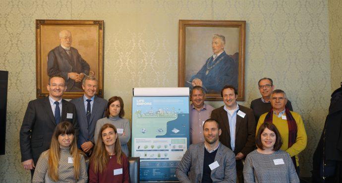 III Reunión de Seguimiento del proyecto LIFE-EMPORE en Delft (Holanda)
