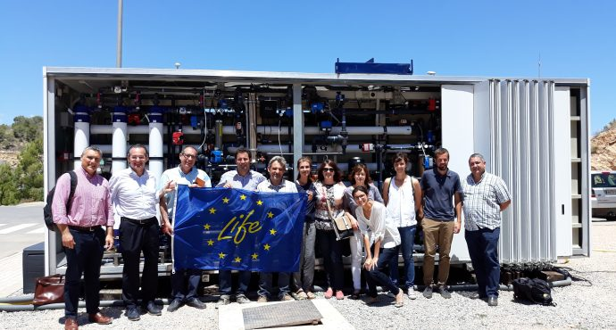 LIFE EMPORE project receives the second visit of the LIFE External Monitoring Team of the European Commission