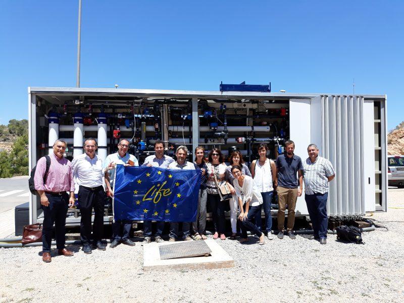 2ª Visita del equipo externo de la Comisión Europea al proyecto LIFE EMPORE