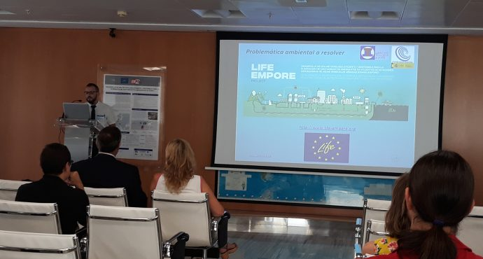 """LIFE EMPORE presentation on the Working Day called """"Antimicrobial Resistance in Animal Production"""""""
