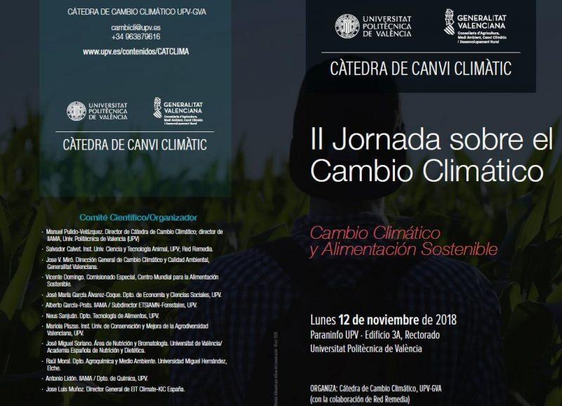 PRESENTACIÓN DEL PROYECTO LIFE EMPORE EN LA II JORNADA SOBRE EL CAMBIO CLIMÁTICO