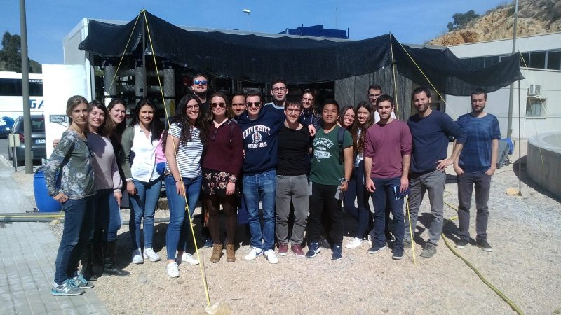 Students from the University of Alicante visit LIFE EMPORE