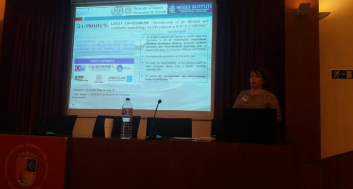 LIFE EMPORE en el Congreso Internacional del Wessex Institute y la Universidad de Alicante