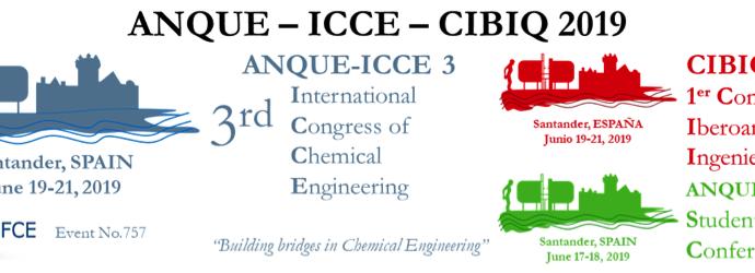 LIFE EMPORE en el congreso 'ANQUE-ICCE-CIBIQ 2019' en Santander