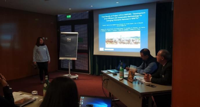 LIFE EMPORE en el congreso 'ICWTTP 2019' en Roma
